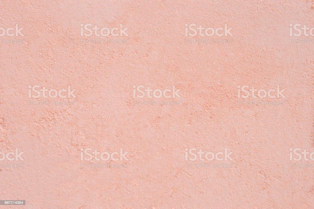 Face powder close up. stock photo
