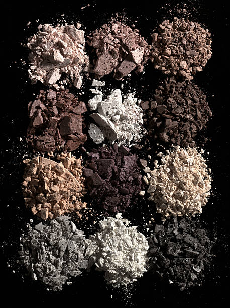 Face powder. stock photo