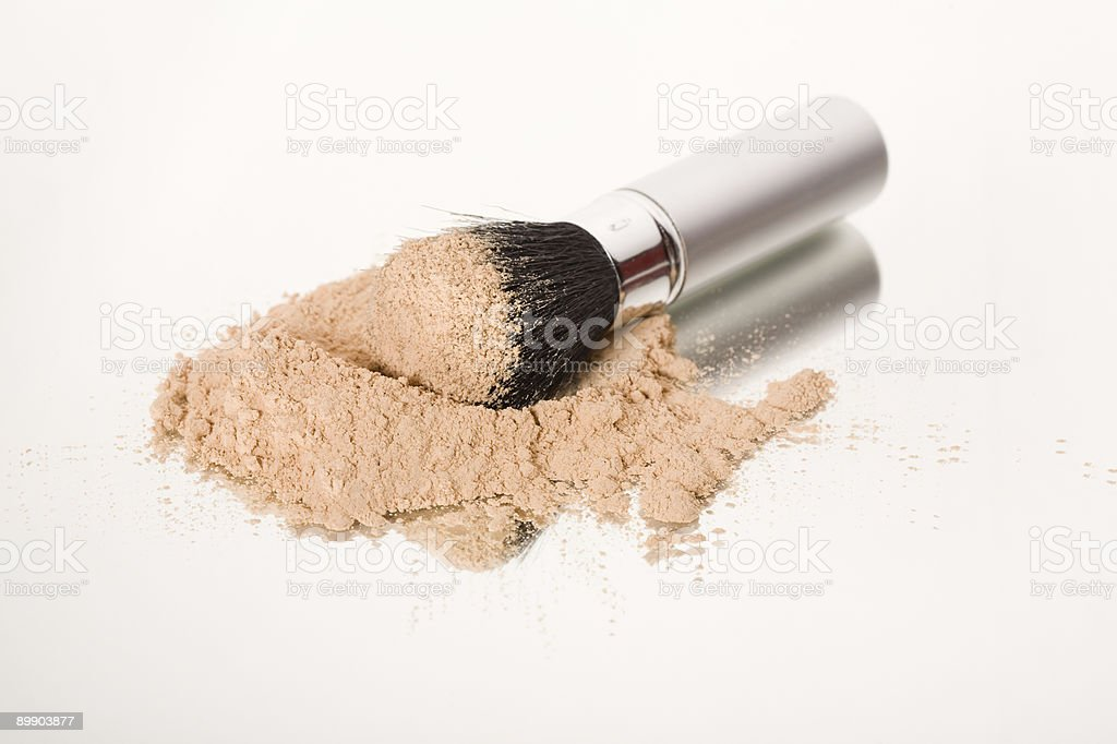 Face Powder royalty free stockfoto