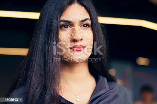 1021681352 istock photo Face recognition. Sports concept. 1180564314