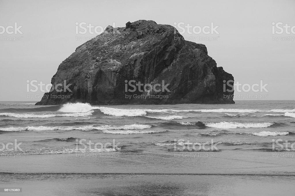 Face Rock, Bandon, Oregon, Pacific Northwest, USA stock photo
