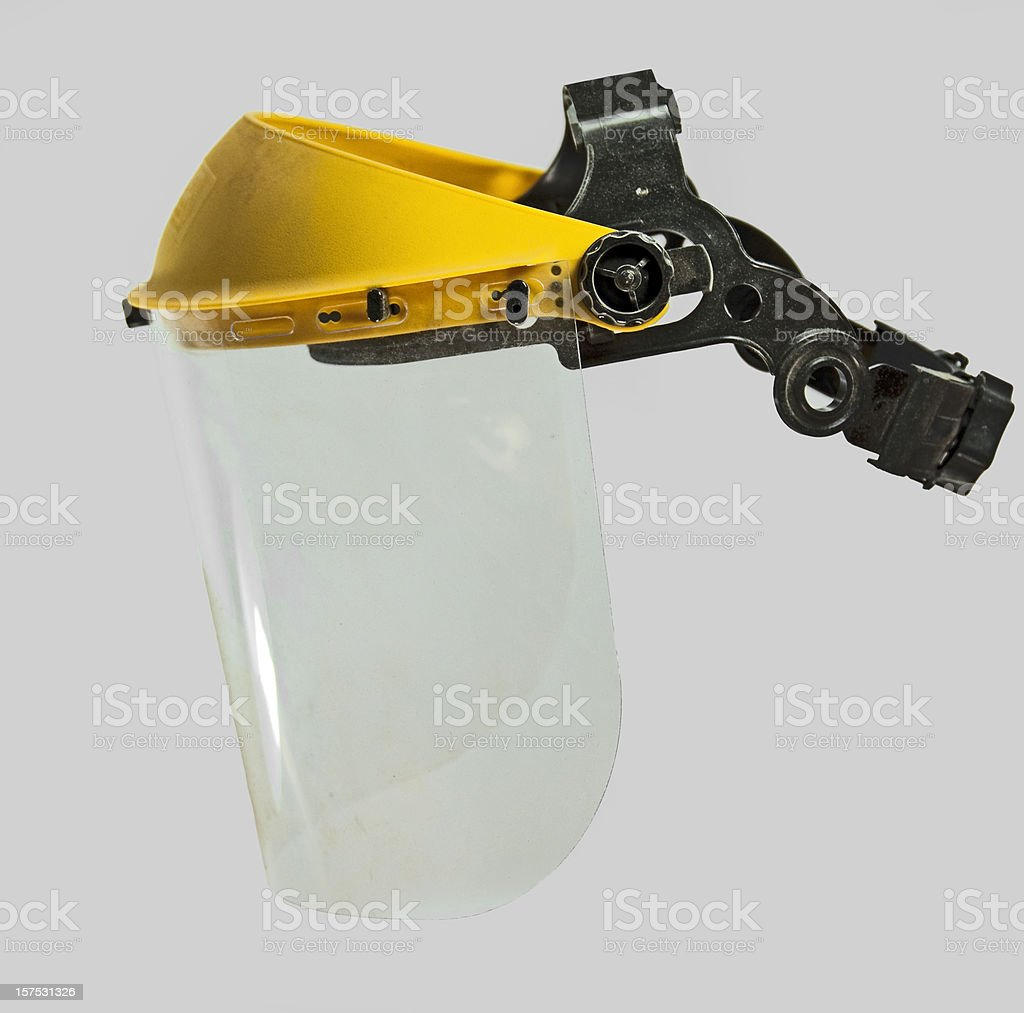 Face Shield Protective Mask stock photo