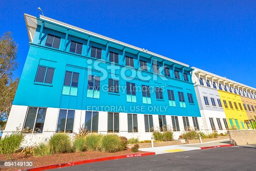istock Facebook headquarters California 694149130