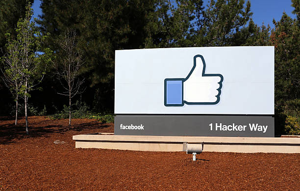 Facebook World Headquarters stock photo