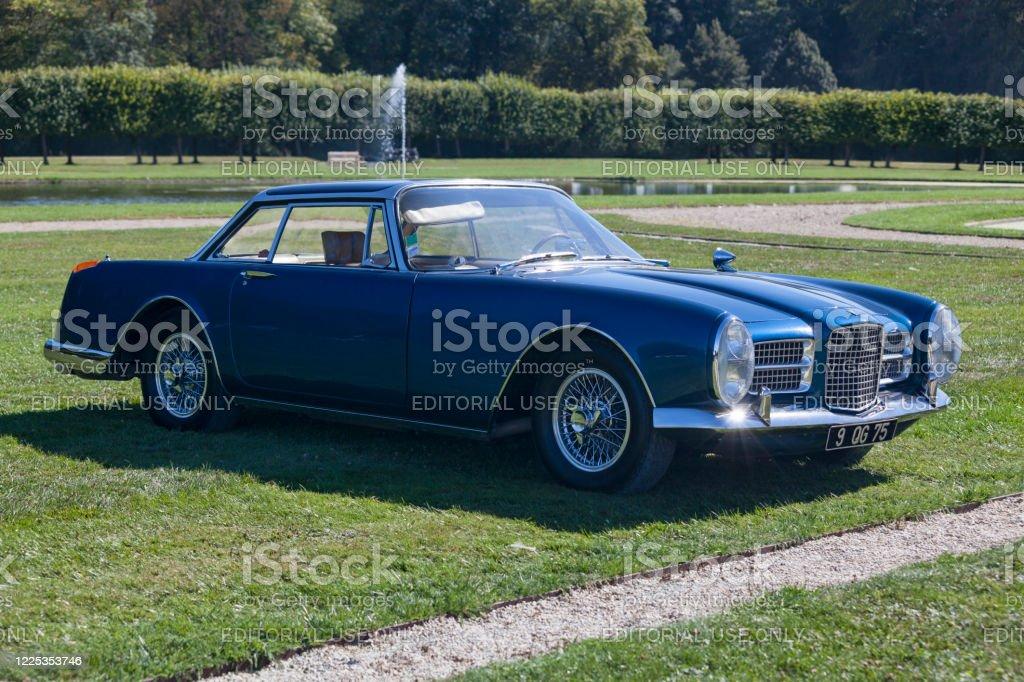 Facel Vega HK II Coupe - Royalty-free 1960-1969 Stock Photo