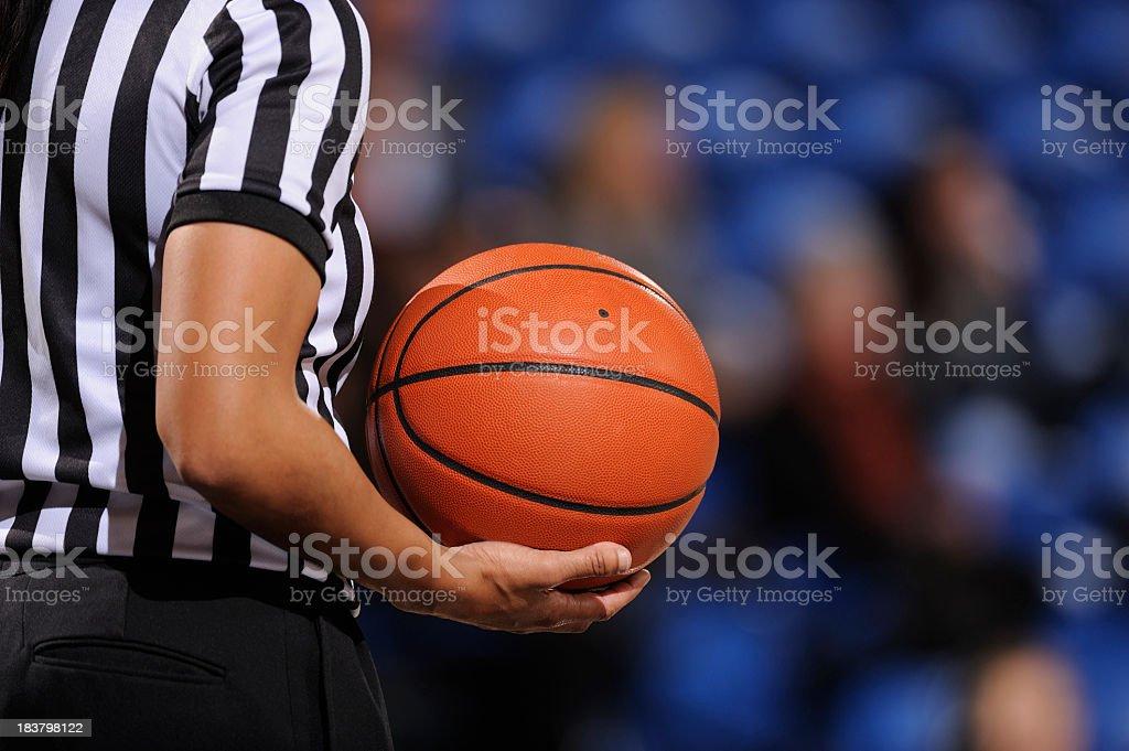 Árbitro de basquete - foto de acervo