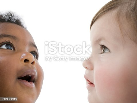 istock Faces of babies 80993338