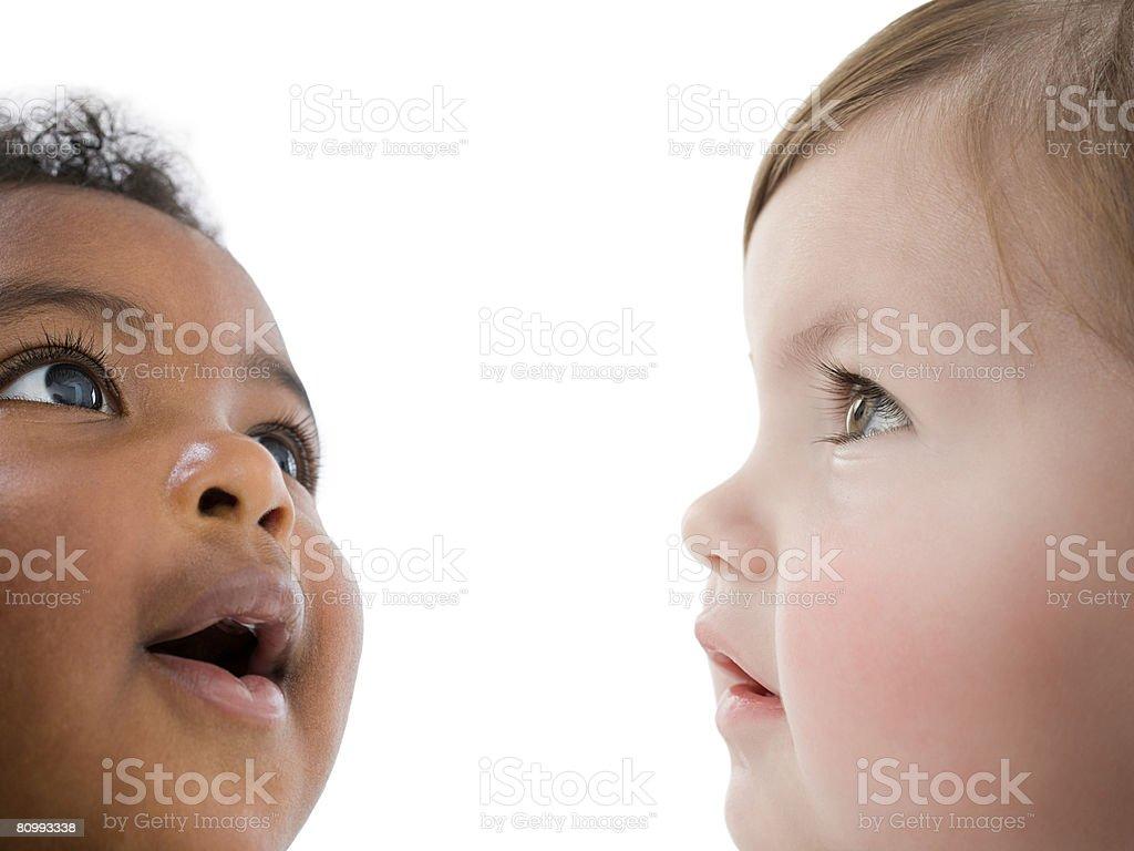 Gesichter von Babys – Foto