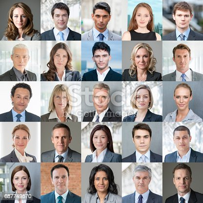 istock Faces of Business - Confident Colour Image 687749570