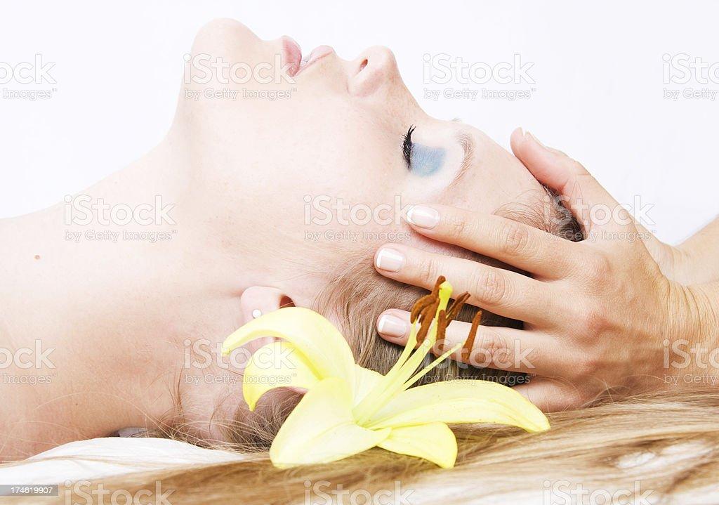 Facial Care royalty-free stock photo