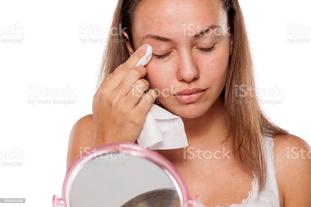facial care stock photo