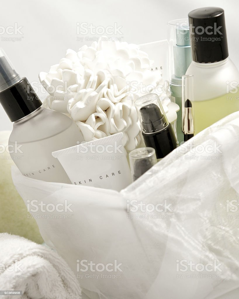 facial care products royalty-free stock photo