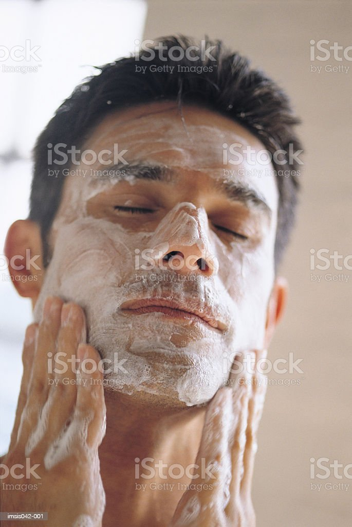 Limpeza Facial foto de stock royalty-free