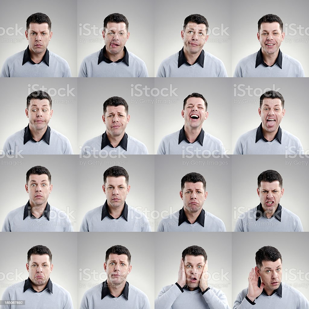 Facial Expression stock photo