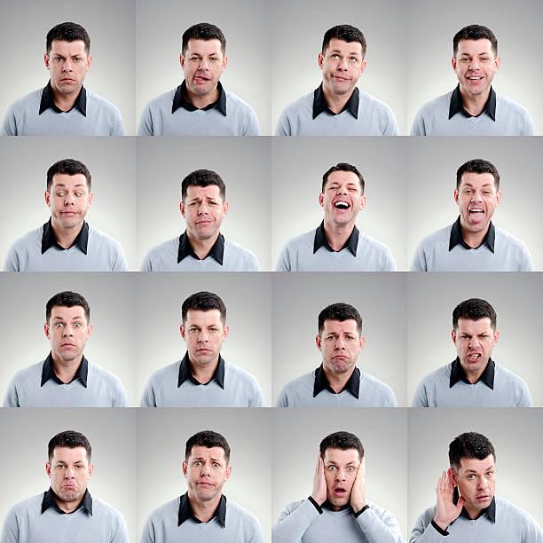 Facial Expression stock photo