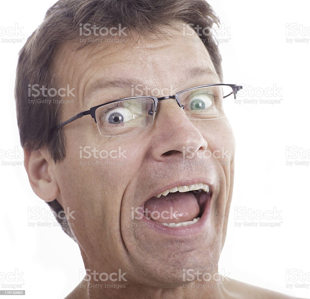 Facial Expression Series royalty-free stock photo