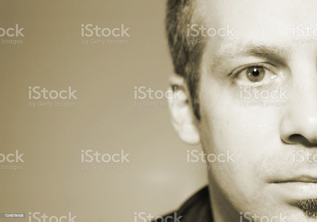 Facial features royalty-free stock photo