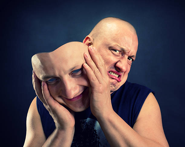 facial mask - disingenuous stock pictures, royalty-free photos & images