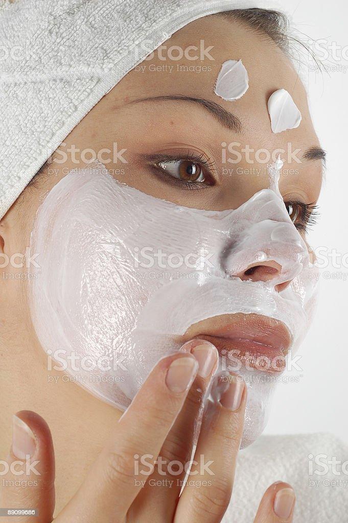 Máscara facial#16 foto de stock libre de derechos
