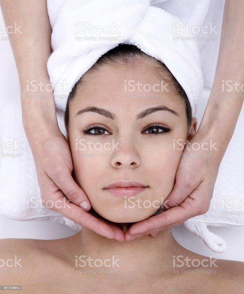 Facial royalty-free stock photo