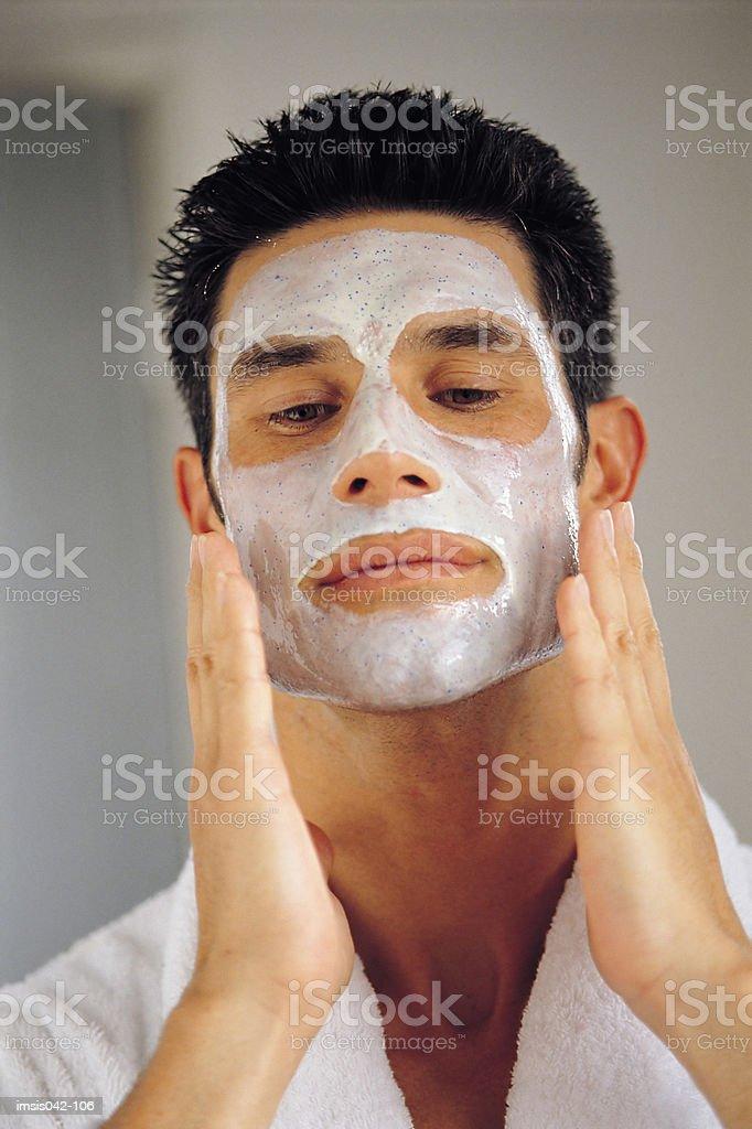 Facial royalty free stockfoto
