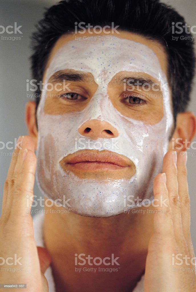 Facial royalty free stockfoto