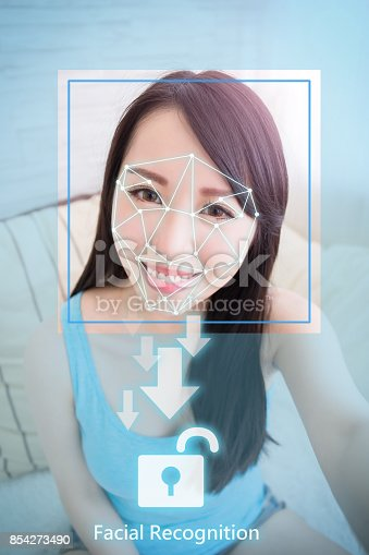 851960142istockphoto Facial recognition concept 854273490