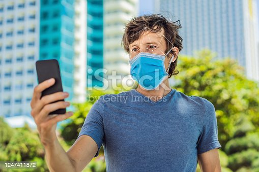 istock Facial recognition grid overlay. Face Recognition In Medical Mask Using Artificial Intelligence And Neural Networks. Biometric scanning Face ID. Identification of Person Through System Of Recognition. Polygon Wireframe Concept 1247411872