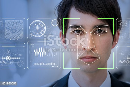 851960260 istock photo Facial Recognition System concept. 851960058
