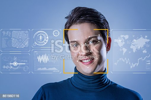 851960260 istock photo Facial Recognition System concept. 851960116