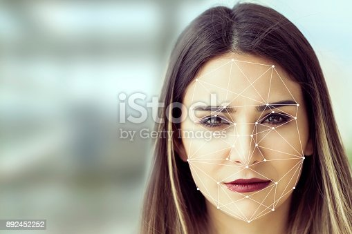 851960260 istock photo Facial Recognition System concept 892452252