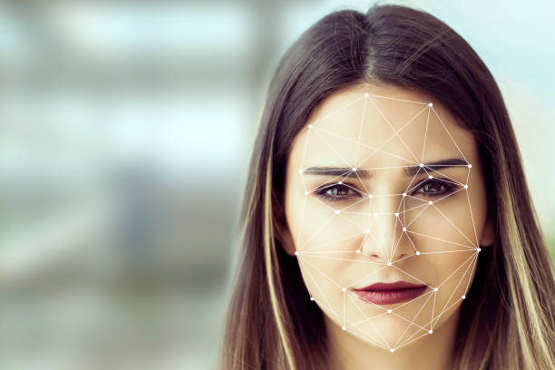 facial recognition system concept - identity stock photos and pictures