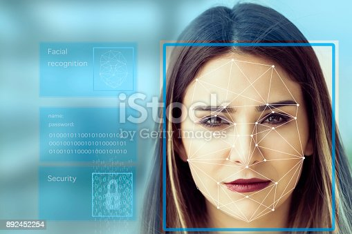 851960260 istock photo Facial Recognition System concept 892452254