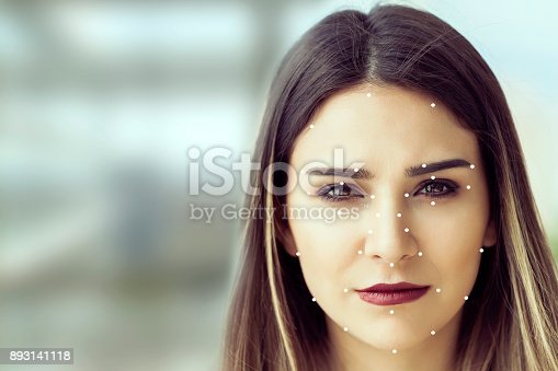 851960260 istock photo Facial Recognition System concept 893141118