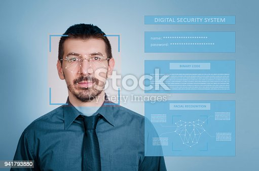 851960146 istock photo Facial Recognition System concept 941793880