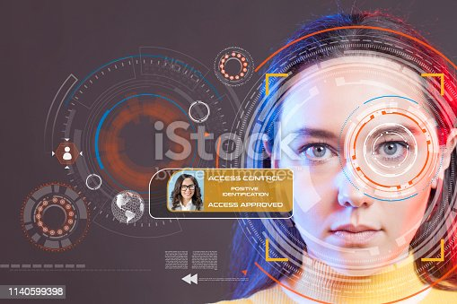 872707982 istock photo Facial Recognition System 1140599398