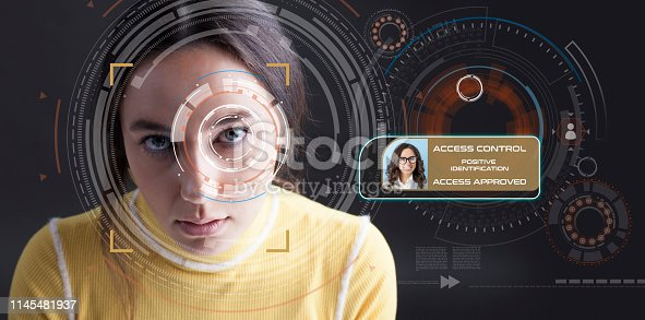 872707982 istock photo Facial Recognition System 1145481937