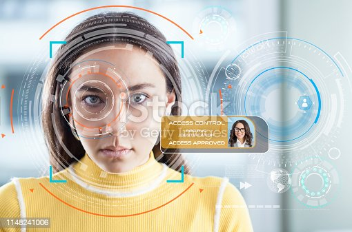 872707982 istock photo Facial Recognition System 1148241006