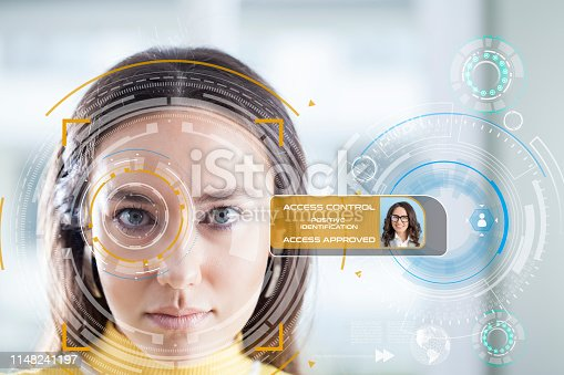 872707982 istock photo Facial Recognition System 1148241197