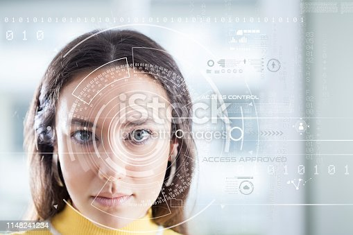 872707982 istock photo Facial Recognition System 1148241234