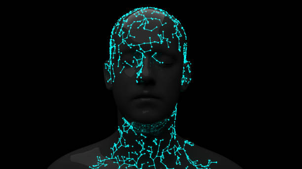 Facial Recognition System Facial Recognition System 3d scanning stock pictures, royalty-free photos & images