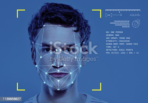 851960146istockphoto Facial Recognition Technology 1139858627