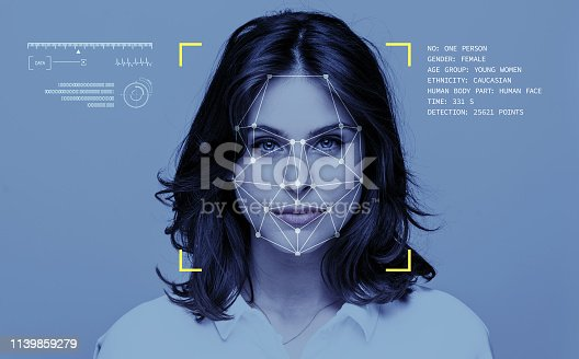 istock Facial Recognition Technology 1139859279