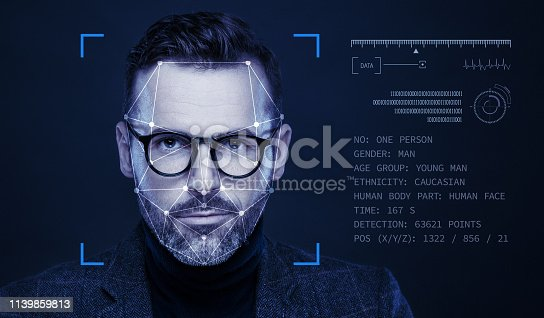 851960146istockphoto Facial Recognition Technology 1139859813