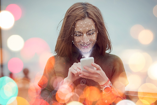 istock Facial Recognition Technology 1147799245