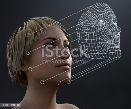 851960260 istock photo Facial Recognition Technology 1191930143