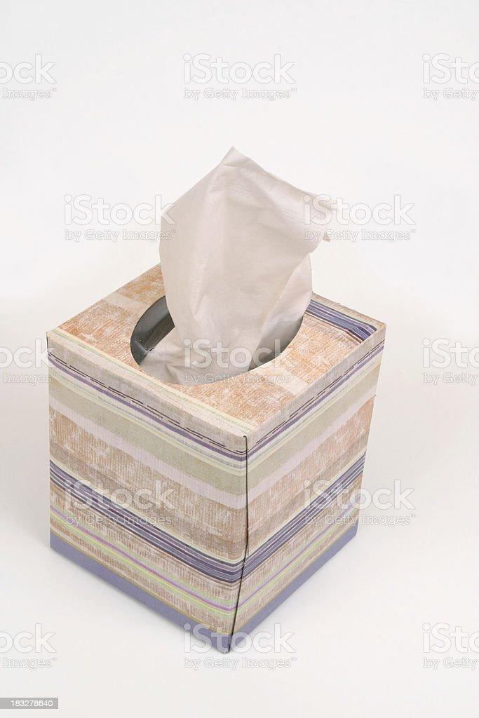 Facial Tissue and Box royalty-free stock photo