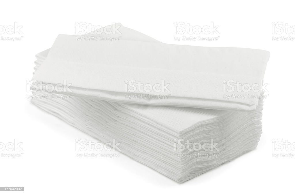 Facial tissue royalty-free stock photo