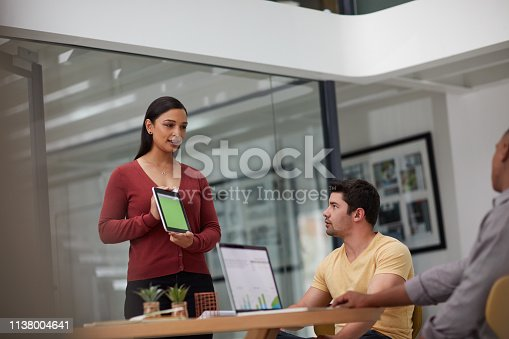 557608497istockphoto Facilitating meetings with smart apps 1138004641