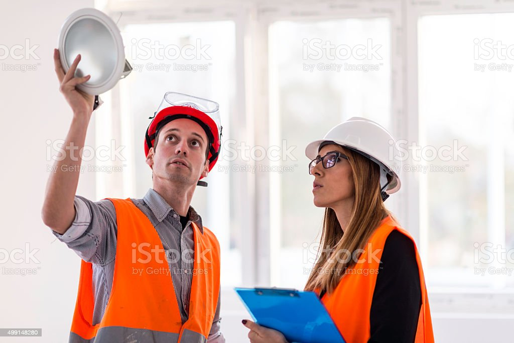 Facility management stock photo